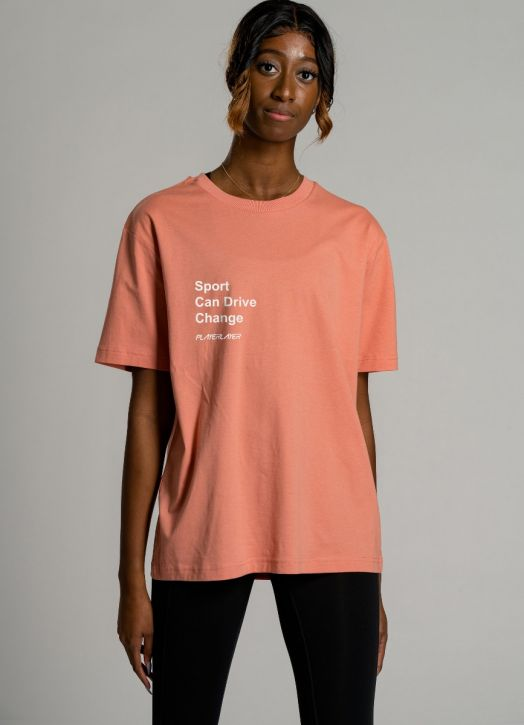 Eco Tee Coral