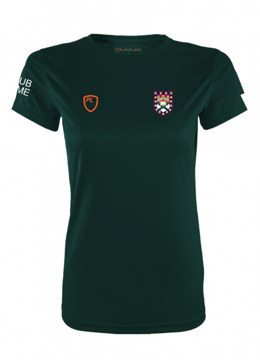 Women's VictoryLayer Tee Forest Green