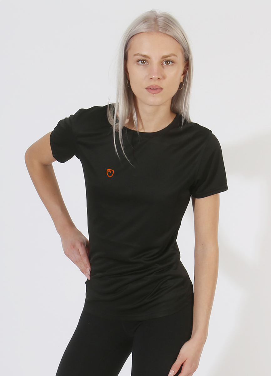 Women's Performance Tee Black