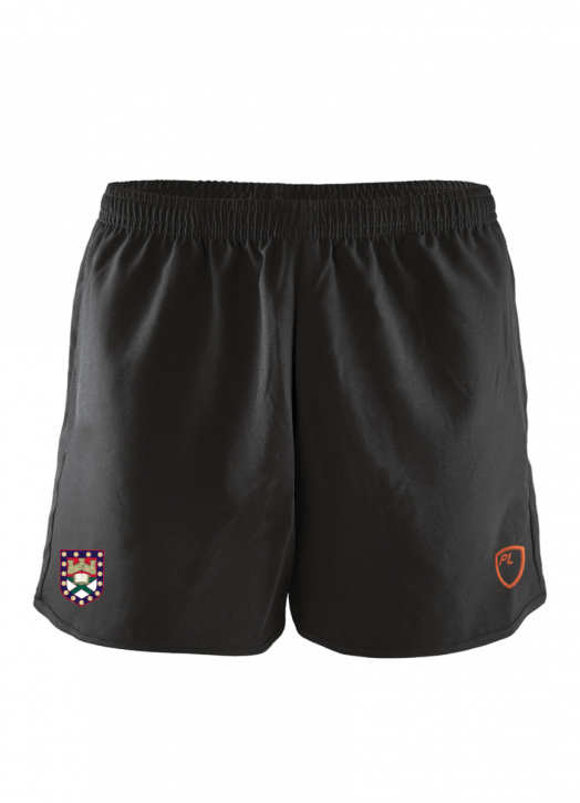 Women's Blitz Field Shorts Pockets Black