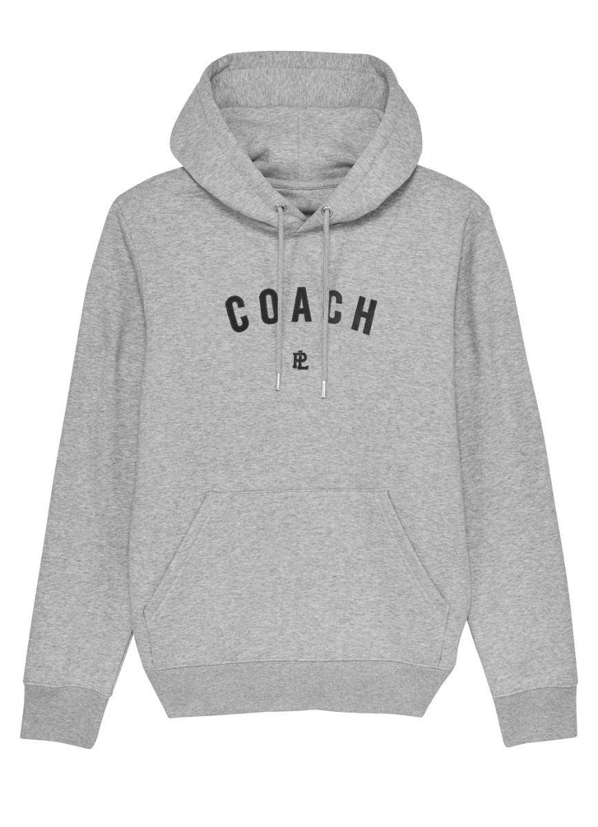 EcoLayer Coach Hoodie Grey Marle