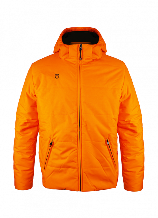 Men's Padded Jacket Orange