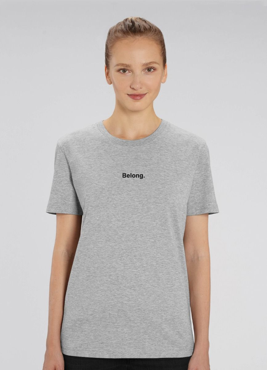 Women's EcoLayer Tee Grey Marle